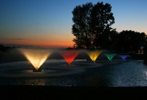 kasco fountain systems by lake management